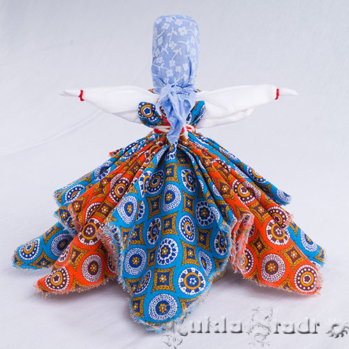 Кукла Платочница вид со спины