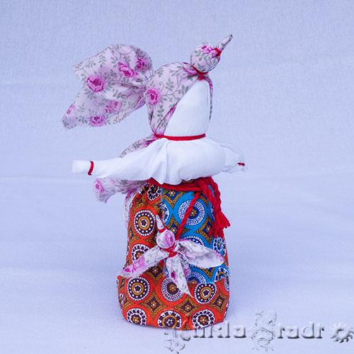 Кукла Птица Радость, дополнительные элементы - маленькие птички на поясе