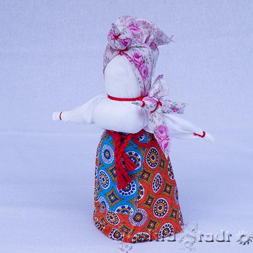Кукла Птица Радость, дополнительные элементы - маленькие птички на плече